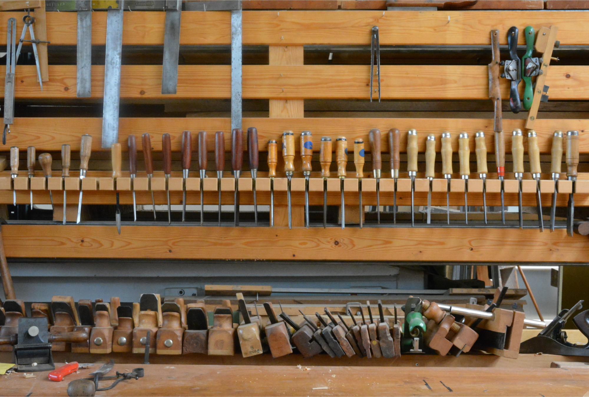 Jan hout Eindhoven werkplaats